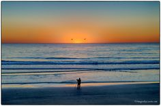 The Photographer and the Sunset by Laurie Rubin on 500px