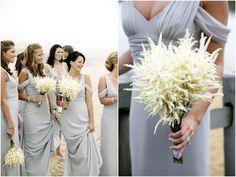 Astilbe bouquets - Simple, unique and ever so pretty!