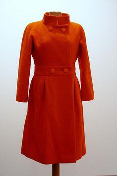Doble lana naranja. Givenchy
