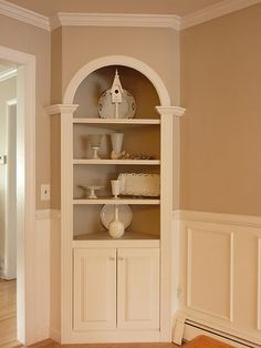 Built In Corner Shelving/hutch · Bathroom Built InsDining Room ...