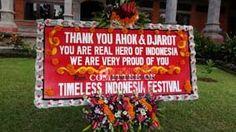 Karangan Bunga untuk Ahok-Djarot Muncul di DPRD Bali - http://denpostnews.com/2017/05/03/karangan-bunga-untuk-ahok-djarot-muncul-di-dprd-bali/