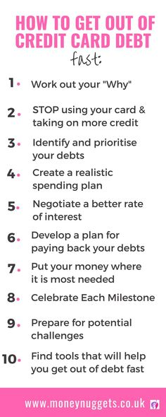 credit cards tips How To Get Out of Credit Card Debt Fast: A Step-by-Step Guide (+ Free Printable) : Do you want to pay off your credit card debt quickly It is easier said than done! Here are some proven tips to help you get rid of credit card debt fast. Paying Off Credit Cards, Best Credit Cards, Credit Score, Dave Ramsey, Thing 1, Credit Card Interest, How To Get, How To Plan, Debt Payoff