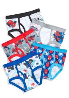 Marvel™ Boys' 5-Pack Spider-Man Underwear Boys 4-7 -  - No Size