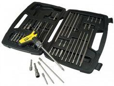 Stanley FatMax T Handle Ratchet Power Key Set 43 Piece