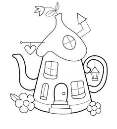 Another excellent design for gnome home appliqués !