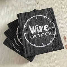 Wine Gift, Wine Lover Gift, Wine Coaster, Wood Coaster Set, Gift for Her, Bar Coasters, Drink Coasters, Funny Drink Coasters, Wooden Coaster