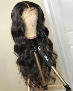 Sistershairstyle Virgin Human Hair Big Body Wave Hair Pre Plucked Lace Wigs For Black Curling Iron Short Hair, Curling Iron Hairstyles, Curled Hairstyles, Weave Hairstyles, Beach Waves For Short Hair, How To Curl Short Hair, Loose Waves Hair, Short Hair Wigs, Human Hair Wigs