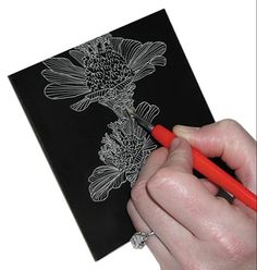 Create amazing art with Ampersand Scratchboard!