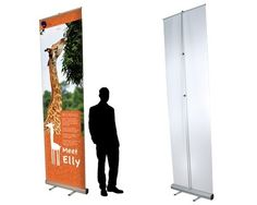Mosquito GIANT Roller Banner Stands