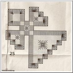 it& approaching . - Embroidery and other tatting . – Broderies et autres Frivolités…… 25 - Hardanger Embroidery, Cross Stitch Embroidery, Christmas Ornament Crafts, Bargello, Plastic Canvas Patterns, Blackwork, Tatting, Quilts, Fabric
