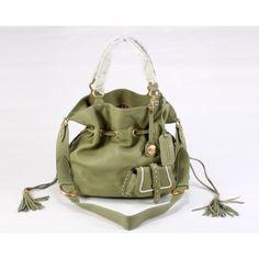 6591e03a7572 PREMIER FLIRT light green Bucket bag