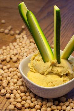 Patè giallo di ceci - Humus