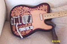 Leather Telecaster