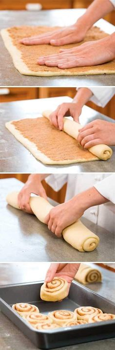 Secrets to cinnamon rolls