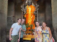 My family in Seim Reap, Cambodia
