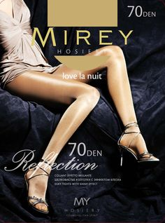 Mirey Reflection -70 Denier Thickness  #Mirey #LuxuryPantyhose