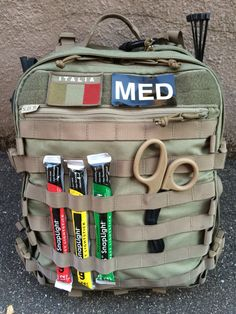 Emergency Medical Kit, Medical Bag, Emergency Preparedness, Tactical Medic, Tactical Survival, Survival Gear, Combat Medic, Combat Gear, Wildland Firefighter Gear