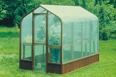 U-Build It Greenhouse Plans