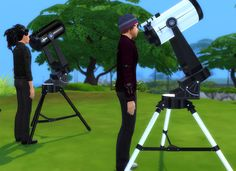The Sims 4 | esmeralda 2t4 Telescope as Observatory Alternative | buy mode hobbies new objects