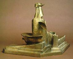 Umberto Boccioni: Development of a Bottle in Space, 1912