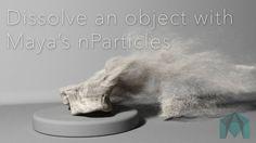 Maya - Basic Particle Dissolve Effect