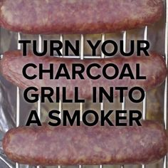 The Tasty Grill is part of Charcoal grill recipes - Grill Hacks Turn Your Charcoal Grill Into a Smoker💨 Smoker Grill Recipes, Bbq Grill, Diy Smoker, Barbecue Ribs, Weber Grill, Grilling Tips, Grilling Recipes, Cooking Tips, Cooking Recipes