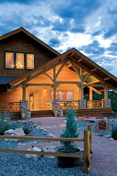 The Great Timber-Frame Adventure: A Grand Timber Home in Colorado, A homeowner's tale of a house built in five phases by a couple who overcame their fear of doing it themselves. | Timber Home Living