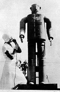 """""""Willie Vocalite"""" robot"""