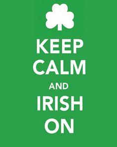 St. Patrick's Day Keep Calm Prints - Two Twenty One