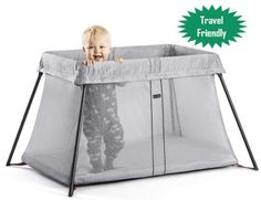 91041fec326 Best travel-friendly crib ever!!!! You can use the BabyBjorn travel