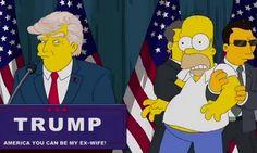 A Vitória de Trump e o Episódio de Os Simpsons