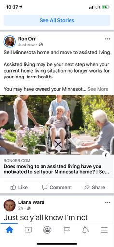 Sell Minnesota home and move to assisted living  Assisted living may be your next step when your current home living situation no longer works for your long-term health.  You may have owned your Minnesota home for many years, and that's where your family grew up and all the kids, and their measurements are still written on the walls with crayon or pencil.  At some point the home becomes too big for you, and you simply can't walk up and down the stairs any longer as your back, legs and… Compound Effect, Minnesota Home, Assisted Living, Home And Living, Stairs, Pencil, Walls, Legs, Lifestyle