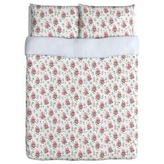 EMMIE SÖT Duvet cover and pillowcase(s) - Full/Queen - IKEA
