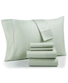 Aq Textiles Bradford 800-Thread Count 6-Pc. California King Sheet Set - Green