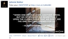 Jonnie Walker, Facebook post, quote post