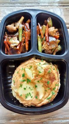 Yes Food Brasil - Linha SPA 380gr - Tortilha de batata com legumes orientais.
