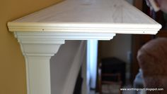 How To Easily Add Display Space To A Mantel
