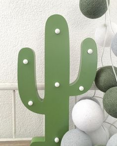 #kwantumrepost Decoratieverlichting Cactus @moniquekirchjunger - GM Have a nice (work)day#cactus #kwantum #kwantum_nederland #cottonballlights