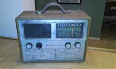 Vintage 1955 Airline Radio Receiver Model by VINTAGERADIOSONLINE