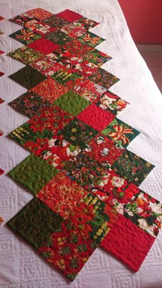 Easy Table Runner Neneng Quilt Projects Pinterest
