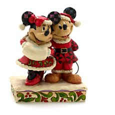 Jim Shore Disney Traditions Mickey and Minnie Mouse Figurine