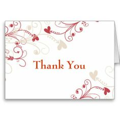 Elegant Thank You Cards to express your appreciation