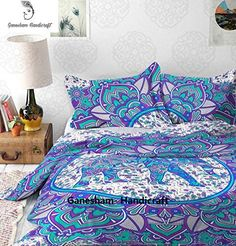 Bohemian Tapestry Bedsheet Handmade Quilts Coverlets Throws Blankets Duvet Cover