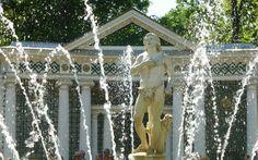 Springbrunnen im Peterhof © Gudrun Krinzinger Hotels, Last Minute Vacation, Travel, Water Fountains, Cruises, Baltic Sea