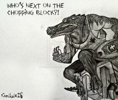 Who's Next On The Chopping Block? by megadancingpanda on @DeviantArt  Renekton from League of Legends