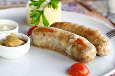 Tender chicken sausages