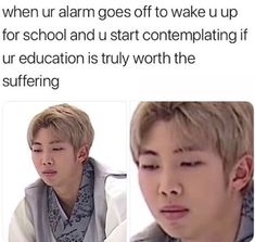 Education is the worst but bts wants us to study so I will!