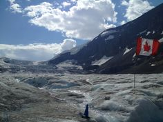 Columbia Ice Fields in Banff, AB