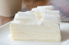 White Almond Cake - Looks Delicious: http://www.recipestation.com/white-almond-cake/