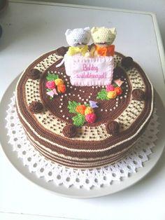 Crochet Cake, Crochet Food, Cupcake Cakes, Cupcakes, Play Food, No Bake Cake, Crochet Projects, Crocheting, Sweet Treats